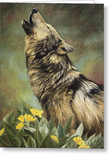 Call Of The Wild Greeting Card by Lucie Bilodeau