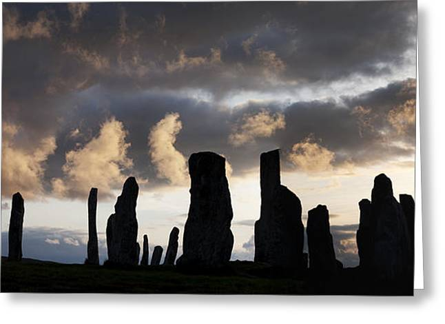 Bronze Age Greeting Cards - Callanish Standing Stones Greeting Card by Tim Gainey