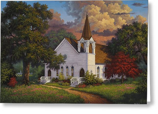 Kyle Wood Greeting Cards - Called To Praise Greeting Card by Kyle Wood