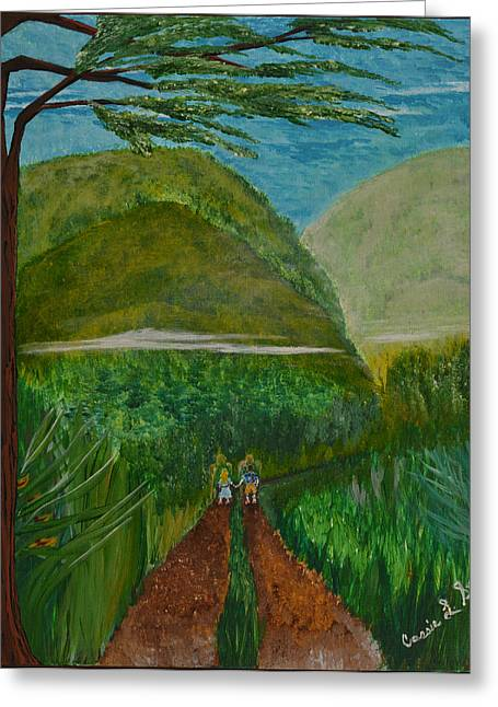 Art-by-cassie Sears Greeting Cards - Called to the Mission Field Greeting Card by Cassie Sears