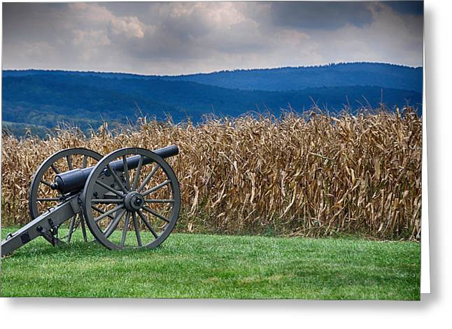 Best Sellers -  - Civil War Battle Site Greeting Cards - Calm Before the Storm 1 Greeting Card by Rhonda Negard
