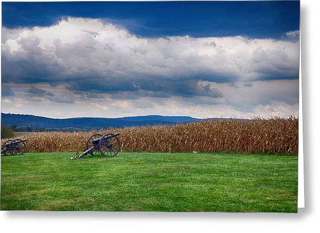 Civil War Battle Site Greeting Cards - Calm Before the Storm 2 Greeting Card by Rhonda Negard