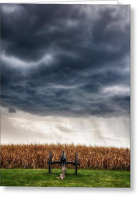 Civil War Battle Site Greeting Cards - Calm Before the Storm 3 Greeting Card by Rhonda Negard