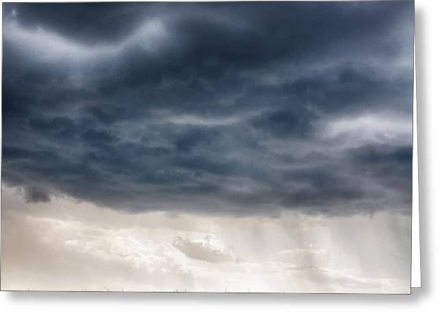 Calm Before the Storm 3 Greeting Card by Rhonda Negard