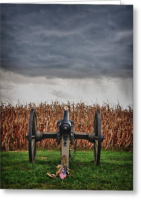 Civil War Battle Site Greeting Cards - Calm Before the Storm 4 Greeting Card by Rhonda Negard
