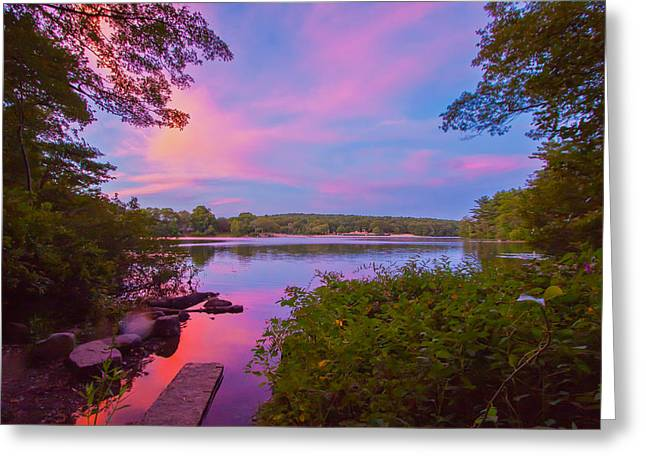 Boston Ma Greeting Cards - Calm Before the Storm Greeting Card by Brian MacLean