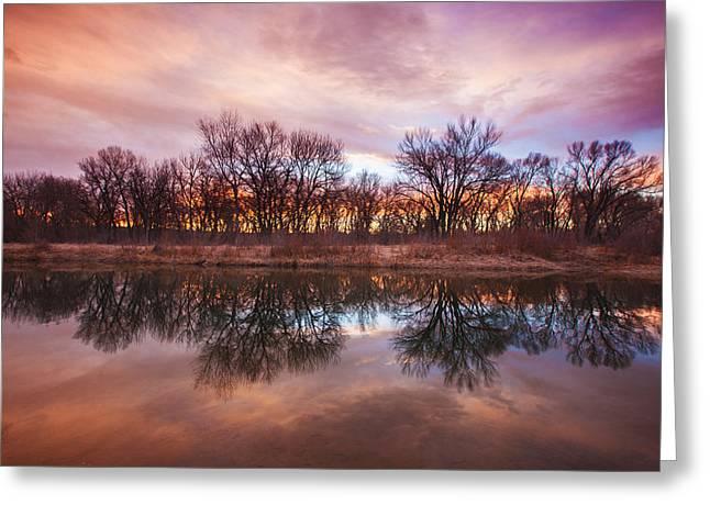 Fine Art Sunrise Canvas Prints Greeting Cards Greeting Cards - Calm Before The Storm Greeting Card by Darren  White