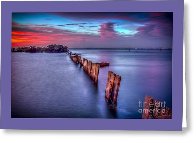 Calm Before The Storm Greeting Card by Marvin Spates