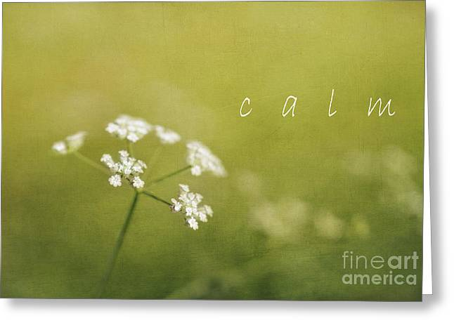 Porridge Greeting Cards - Calm Greeting Card by Elena Nosyreva