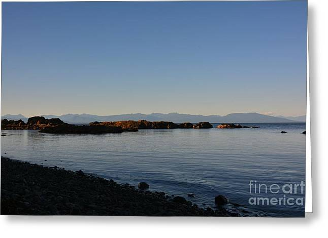 Ocean Images Greeting Cards - Calm Evening Greeting Card by Elmar Langle