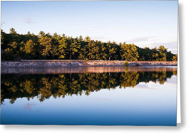 Lee Costa Greeting Cards - Calm Greeting Card by Lee Costa