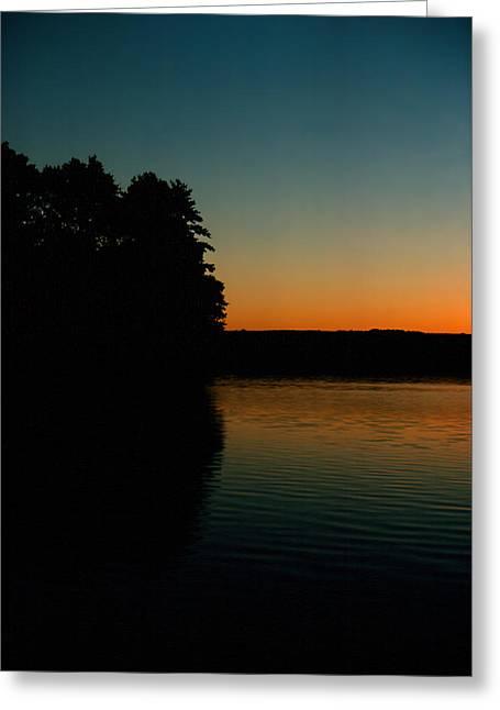 Calm Sunrise Greeting Card by Ben Kotyuk