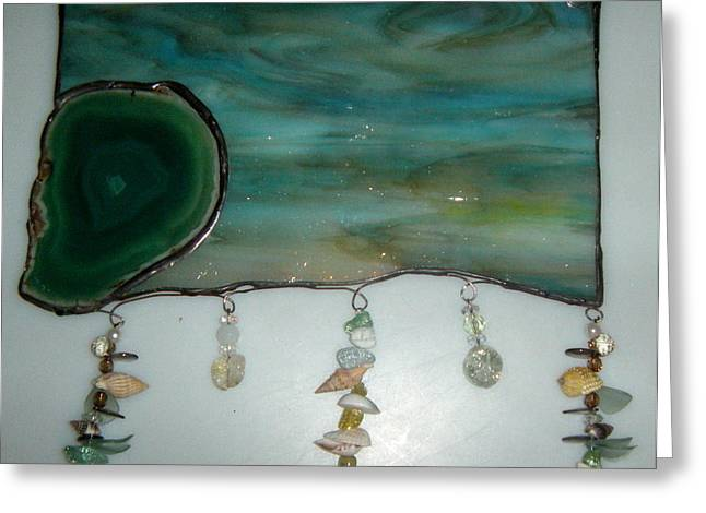 Agate Beach Greeting Cards - Calm Waters Greeting Card by Nora Solomon