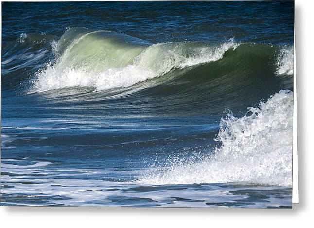 Beach Greeting Cards - Calm wave Greeting Card by Zina Stromberg