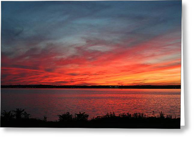 Calming Escape Greeting Card by Stephen Melcher