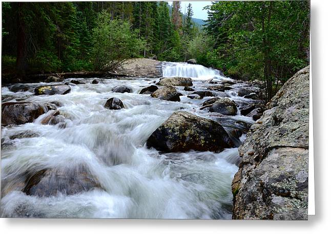 Whalley Greeting Cards - Calypso Cascades Greeting Card by Tranquil Light  Photography
