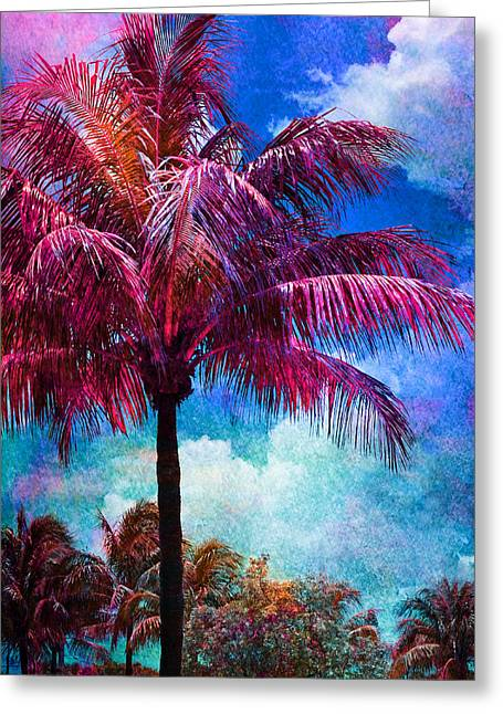 Gouache Photographs Greeting Cards - Calypso Greeting Card by Laura  Fasulo