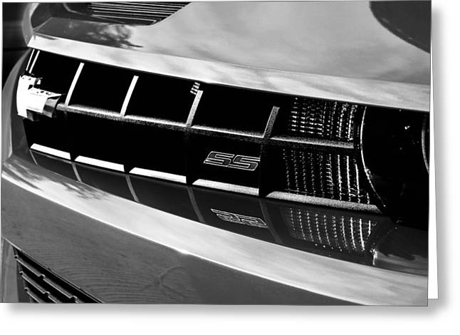 Gift Ideas For Him Greeting Cards - Camaro SS Greeting Card by Deon Casey