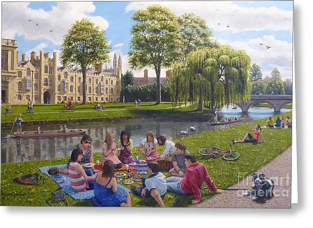 Cam Greeting Cards - Cambridge Summer Greeting Card by Richard Harpum