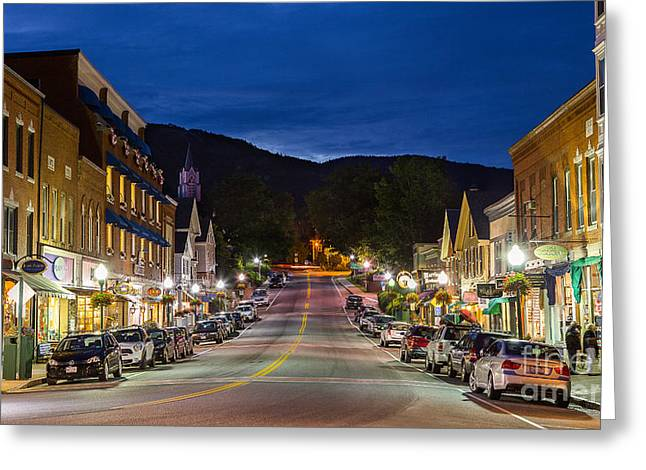 The Right Stuff Greeting Cards - Camden Maine Greeting Card by Benjamin Williamson