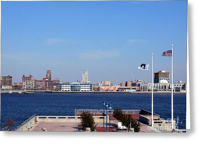 Penn Photographs Greeting Cards - Camden Waterfront Greeting Card by Olivier Le Queinec