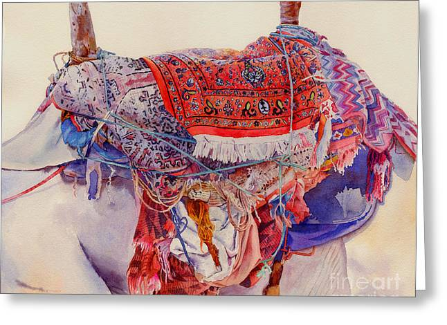 Camel Saddle Greeting Card by Dorothy Boyer