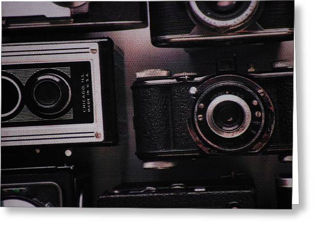 Retro Photography Greeting Cards - Camera Click Greeting Card by Martin Newman