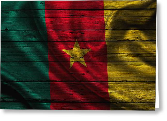 Continent Greeting Cards - Cameroon Greeting Card by Joe Hamilton