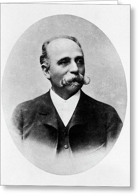 Camillo Golgi Greeting Card by National Library Of Medicine