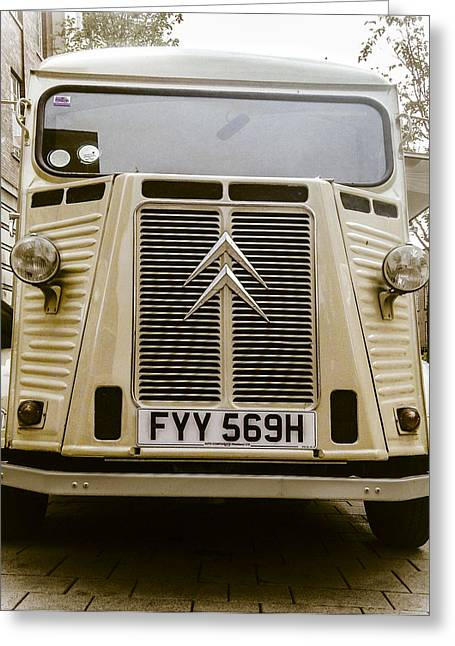 Capuccino Greeting Cards - Camionette Cappuccino Chic Greeting Card by Anatole Beams