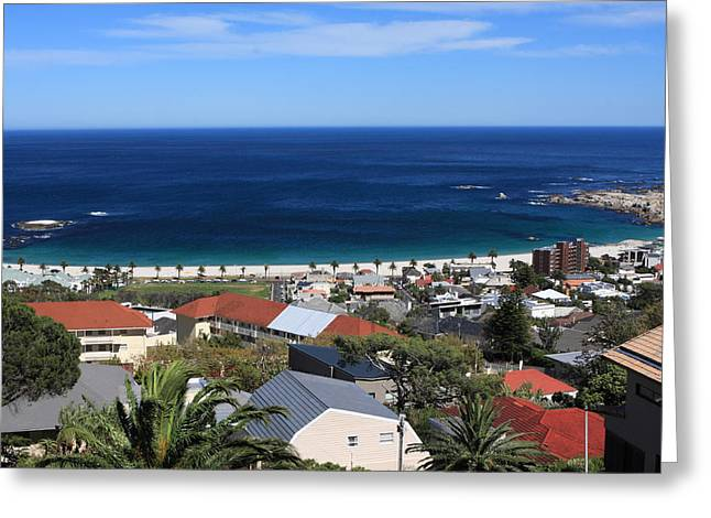 Moran Greeting Cards - Camps Bay - Cape Town - South Africa Greeting Card by Aidan Moran