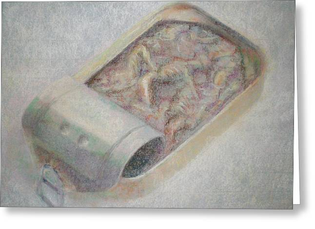 Creepy Pastels Greeting Cards - Can Greeting Card by Paez  Antonio