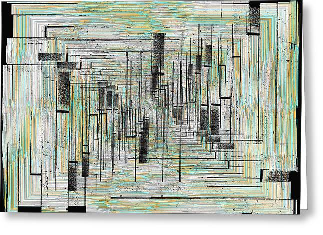Jagged Border Greeting Cards - Can You Hear Me Major Tom Greeting Card by Tim Allen