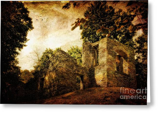 Harpers Ferry Digital Greeting Cards - Can You Hear Them Greeting Card by Lois Bryan