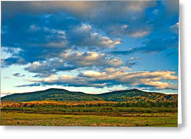 Skiing Print Greeting Cards - Canaan Valley Greeting Card by Steve Harrington