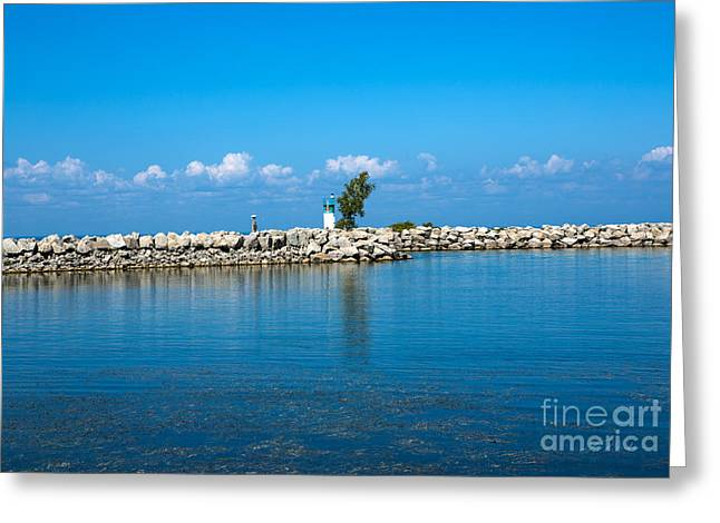 Commercial Photography Greeting Cards - Canada Bay Greeting Card by Iris Richardson