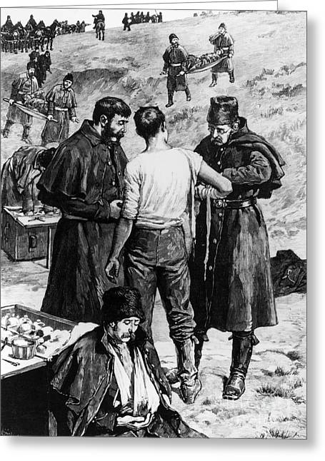 Fish Creek Greeting Cards - Canada: Riel Rebellion, 1885 Greeting Card by Granger