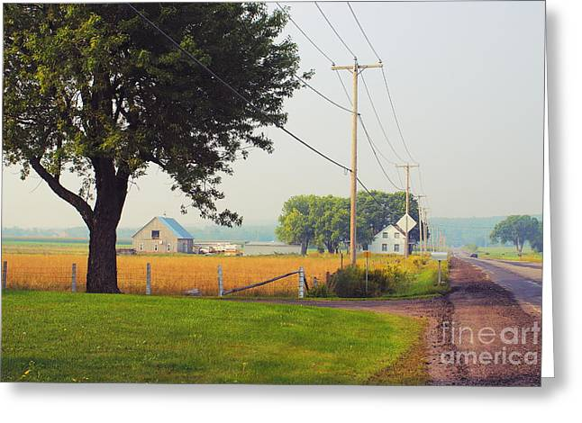 Aimelle Photography Greeting Cards - Canada Rural Scene Greeting Card by Aimelle