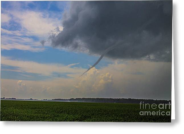 Severe Weather Greeting Cards - Canadian Funnel Greeting Card by Francis Lavigne-Theriault
