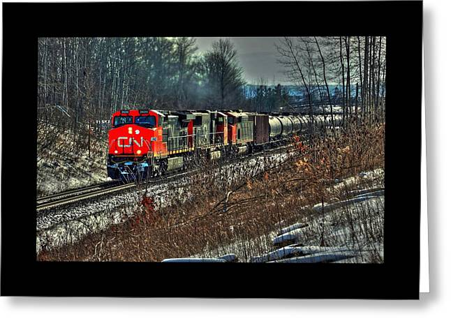 Canadian National Railway Greeting Card by Karl Anderson