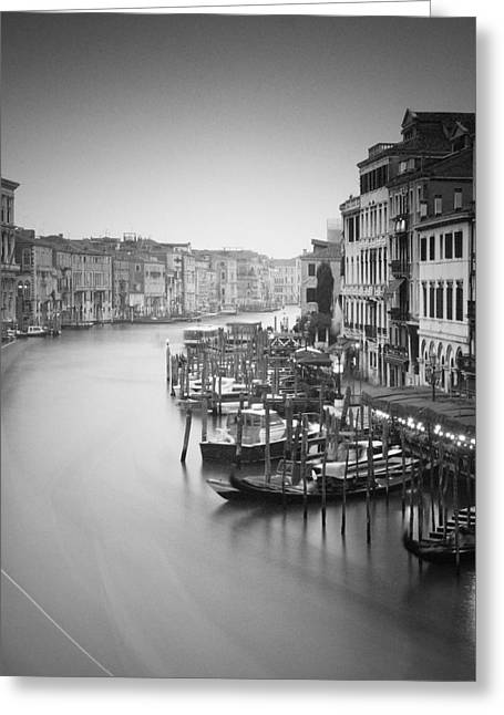 Canal Grande Greeting Cards - Canal Grande Study III Greeting Card by Nina Papiorek