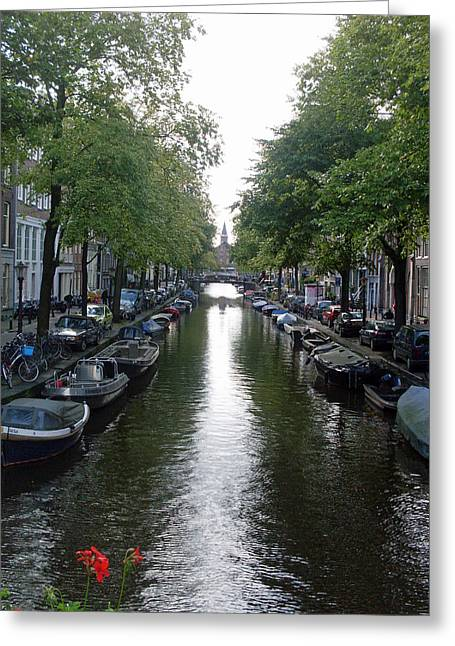 Canal Of Mystery Greeting Card by Mike Podhorzer