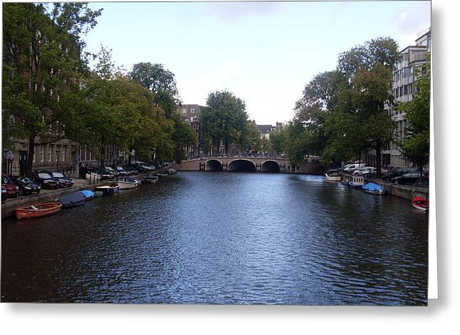 Canal Of Wonder Greeting Card by Mike Podhorzer