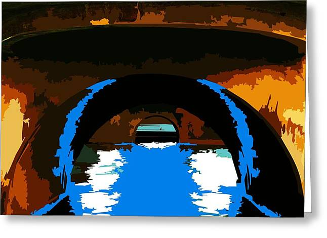 Indycar Greeting Cards - Canal Zone  Greeting Card by P Dwain Morris