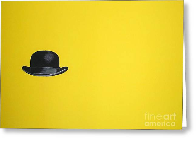 Canary Yellow Greeting Card by Venus