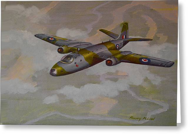 Canberra Sortie Greeting Card by Murray McLeod