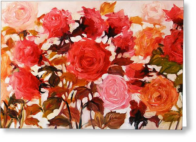 Roze Greeting Cards - Cand iubesti trandafirii Greeting Card by Elena Bissinger
