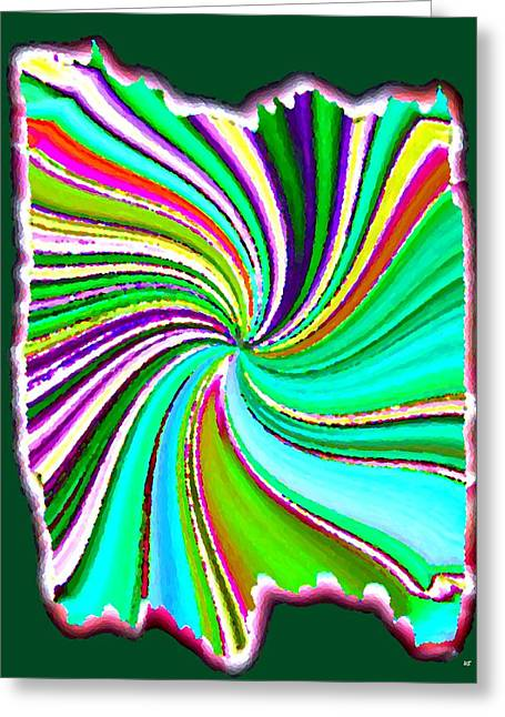 Energize Greeting Cards - Candid Color 21 Greeting Card by Will Borden