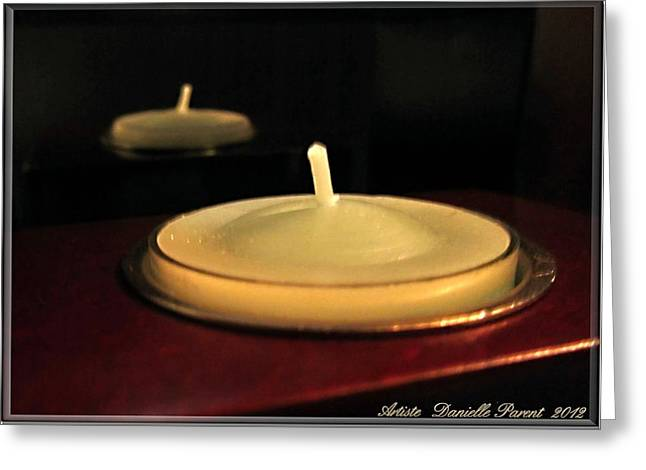 Candle Stand Greeting Cards - Candles And Relaxation Greeting Card by Danielle  Parent