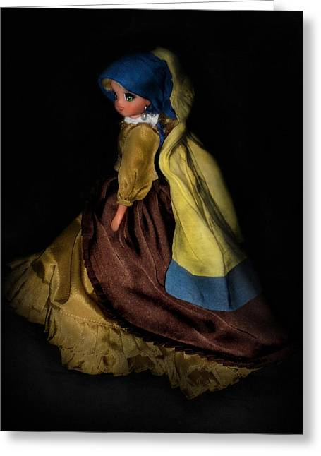 Girl With A Pearl Earring Greeting Cards - Candy Candy Girl With A Pearl Earring Greeting Card by Donatella Muggianu